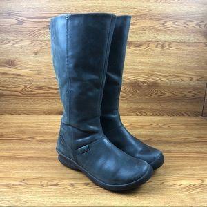 Keen Bern Baby Bern Black Leather Waterproof Boots